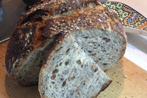 Artisan Wheat Bread with Seeds